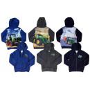 Kids Boys Hoodie Sweatshirt Jacket Lined