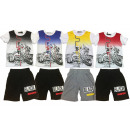 Kids Boys Sport Suit Set of 2 Trend T-Shirt