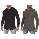 Großhandel Pullover & Sweatshirts: Herren Strickjacke Jacken Sweat Strickpullover