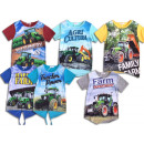 Kids Boys Kids Trecker Tractor Bauer T-Shirt