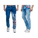 Fashionable mens jeans trousers fan WM UK