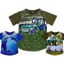 Kids Boys T-Shirt Tractor Farmer Dolphins 2-14
