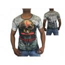 Uomini Uomini manica corta T-shirt rotonde motivo