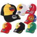 Fan World Cup countries Cappy Premium Snapback Hea