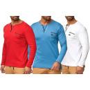 Großhandel Shirts & Tops: Herren Trend Pullover Longsleeve ...