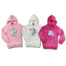 Kids Girls Hooded Pullover Hoody Unicorn