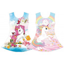 Niños niña tendencia vestido verano playa unicorni
