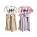 Kids girls summer trend dress and T-Shirt