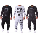 Mens Jogging Suit  Leisure Suit Sport Trainings
