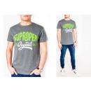 Großhandel Shirts & Tops: Herren Men Sommer Trend Shirt T-Shirt Print