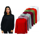Ladies Woman Paisley Pullover Sweater Long Sleeve