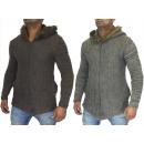 Großhandel Pullover & Sweatshirts: Herren Strickjacke Jacken Sweat Fell Strick Jacke