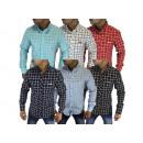ingrosso Camicie: Mens manica lunga  camicia casuale della camicia Ca