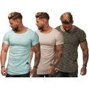 T-Shirt Crewneck Trend Basic pour hommes