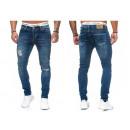 Großhandel Jeanswear: Modische Herren Jeanshose Vintage Destroyed-Look
