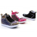 Kids Girls Trend Sneaker Sizes 24-35