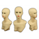 wholesale Business Equipment: Bust womans face head torso Head Doll