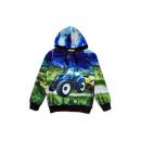 Großhandel Fashion & Accessoires: Kinder Jungen Pullover Hoodie Traktor Bauer Farmer