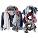 Ladies Trend Scarves Stars Scarves Lady Scarf
