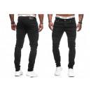 Großhandel Jeanswear: Modische Herren Jeanshose Vintage Used-Look Slim
