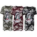 Női Női Női rövid ujjú túlméretezett pólók