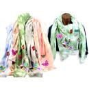 Women Girls scarf Dreieckstuch Fransen