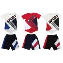 Juego de traje deportivo para niños de 2 T-Shirt t