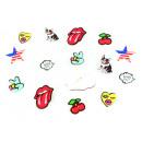 mayorista Articulos de fiesta: La solapa de parachoque Botones Parches broche Ans