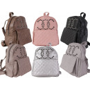 Women's Girl Trend Backpack Fashion Trend Stud