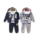 Kids Baby Boys Jogging Suit 3 Pieces 12-36 Mon