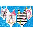 Großhandel Bademoden: Kinder Mädchen Trend Badeanzug Einhorn Flamingo
