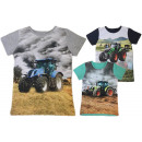 Kids Boys T-Shirt Tractor Farmer Farmer 2-12 years