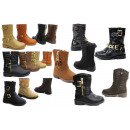 Mix post children girl boots fur shoes