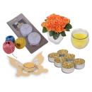 Mix items Flower LED Candle Tea Light Holder teali