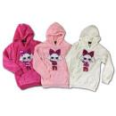 Kids Girls Hooded Sweater Hoody Glitter