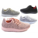 Women's Trend Sneaker Colorful Lace-up Shoes S