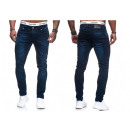 Fashionable Men's Jeans Vintage Distressed Loo