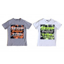 Kids Boys Trend T-Shirt Camouflage Neon Colors