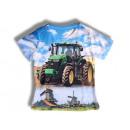 Herren Men Trend  T-Shirt Traktor Bauer Shirt