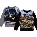 Kids boys sweater tractor farmer farmer sweater