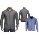 Großhandel Hemden & Blusen: Hochwertiges Herren Hemd Casual Slim Fit 100% BW