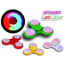 filateurs doigt spinner fidget éclairage à LED bas