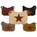 Women's bags Star Canvas Unifarbend Fabric