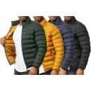 Großhandel Mäntel & Jacken: Herren Men Trend Jacke Steppjacke Winterjacke