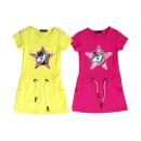 Kinder Mädchen Kleid Pferd Einhorn Pailletten
