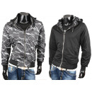Men's Jacket Sweat Jacket Reversible Jacket Ja