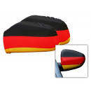 Mirrors flags Germany 2er Set Auto Spieg