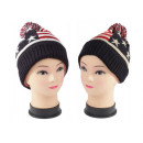 Fashionable unisex wool hat with pom pom in the US