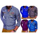 ingrosso Camicie: Affari del Mens  Camice casuali Mix camicia sport c
