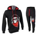 Men's Jogging Suit Skull Skull Sport Suit
